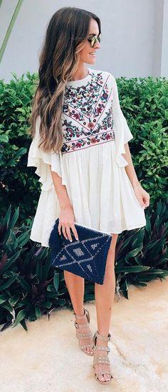 beautiful outfit / dress   bag