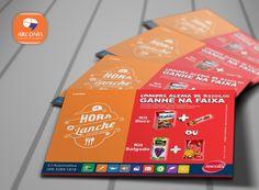 Flyer a Hora do Lanche CJ - Automotiva - #arconel #Flyers #CJautomotiva #divulgação #panfletos