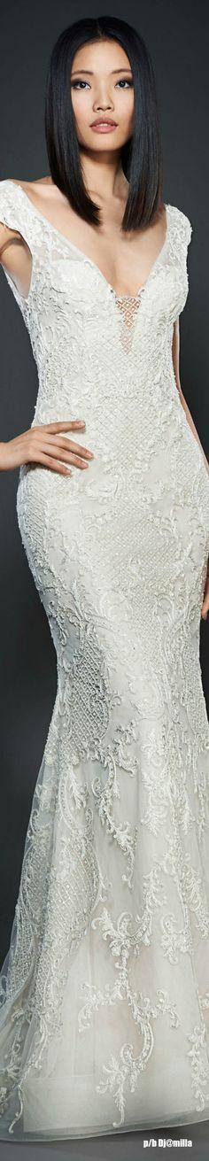 Lazaro Bridal Gowns Spring 2017