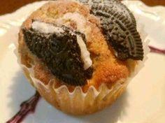 オレオで秘密のクッキー&クリームマフィンの画像