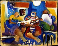 Chichorro - 1claroenigma.wordpress.com Africa Art, Gustav Klimt, It Works, African, Portugal, Wordpress, Painting, Illustrations, Daisies