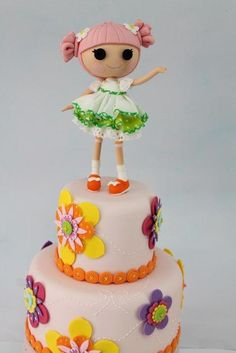 Lalaloopsy - Cake by Mónica Muñante Legua