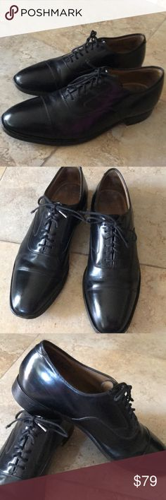 Johnston&Murphy Leather Mans Dress shoe size 11 Used but perfect condition Maybe in Italy Look like new. Johnston & Murphy Shoes Oxfords & Derbys
