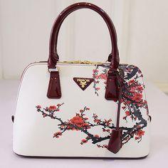 Mujeres de los bolsos bolsos de diseño bolso de las mujeres de lujo famosa marca sac à principal bolso pequeño shell 2016 plum flor del dólar precio