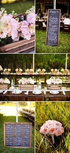 There is so much about this wedding I'm obsessed with!  I love the centerpieces, the flowers, the italian food, the...