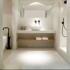 One of the most popular interior design for home is modern. The modern interior will make your home looks elegant and also amazing because of its natural material. If you want to design your home inte Dream Bathrooms, Beautiful Bathrooms, Small Bathroom, Bathroom Ideas, Bathroom Faucets, Gold Bathroom, Luxury Bathrooms, Bathroom Renovations, Bathroom Mirrors
