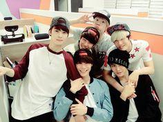 ASTRO Eunwoo, Moon Bin, MJ, San Ha, JinJin and Rocky. They debut February 23rd!!
