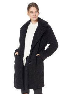 80d5b29be7b90 Amazon.com  KENDALL + KYLIE Women s Single Breasted Coat