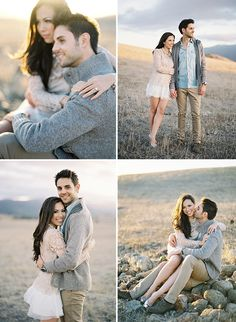 Cute engagement poses