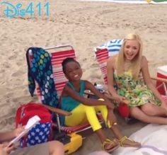 Karan Brar, Peyton List, Skai Jackson And Cameron Boyce At Malibu Beach June 25, 2013