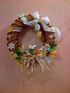 velikonoční inspirace Art N Craft, Easter Wreaths, Newspaper, Quiche, Spring, Holiday, Handmade, Crafts, Decor