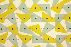 Japanese Fabric Kokka JUBILEE printed matter line  by MissMatatabi