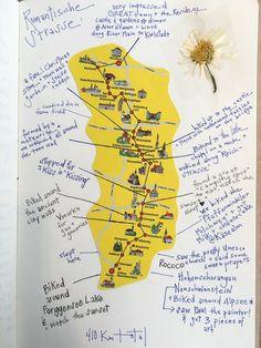Guide To Germanys Scenic Romantic Road Bavaria And Romantic - Germany map romantic road