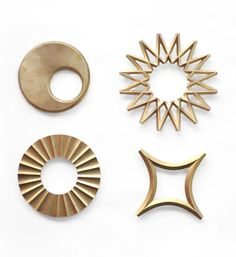 Futagami Brass Trivet   I love these!! It would be awesome to have the Galaxy and Sun trivets. I could hang them on the wall as art and also use them.