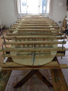 Esqueletos de produção | Stand Up Paddle Projetos