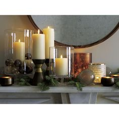 Brent Candle Holder    Crate and Barrel