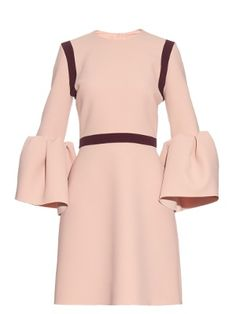 Click here to buy Roksanda Hadari bell-sleeved stretch-cady dress at MATCHESFASHION.COM