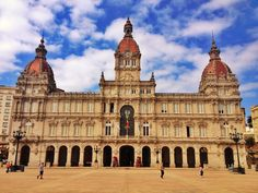 """See 381 photos and 19 tips from 3703 visitors to A Coruña. """"Pretty sea-front and old city centre. Old City, Four Square, Louvre, Building, Events, Old Town, Buildings, Construction"""