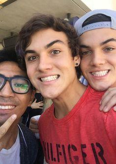 Ethan's smile I'm emo