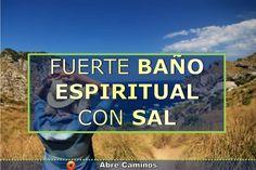 El mejor y más efectivo Baño espiritual con sal parabaño eliminar las energías negativas.