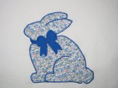 Easter bunny  quilt blocks by BellianStudio