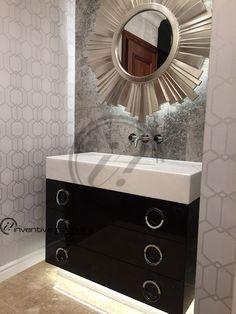 luxury interior design London bathroom Interior Design London, Contemporary Interior Design, Luxury Interior Design, Interior Stylist, Luxury Living, Bathroom, Modern, Furniture, Home Decor