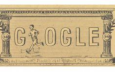 'Doodle' do Google comemora aniversário de 120 anos dos primeiros Jogos da Era Moderna