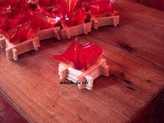 MUNDO DA THI: Enfeite de mesa para festa junina