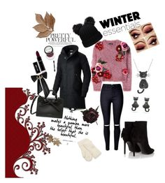 """""""winter"""" by ajlao ❤ liked on Polyvore featuring Dolce&Gabbana, SOREL, Yves Saint Laurent, Amanda Rose Collection, Bliss Studio, Abigail Ahern and Oscar de la Renta"""