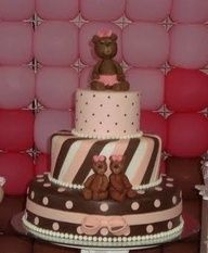 baby shower cakes ideas for girls - Google Search#