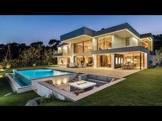 Modern House Design 489977634464388013 - Brand New Luxury Modern Villa in El Madroñal, Marbella, Spain Luxury Modern Homes, Luxury Homes Dream Houses, Modern Mansion, Dream Homes, Dream Home Design, Modern House Design, Marbella Villas, Marbella Spain, Modern Architecture House