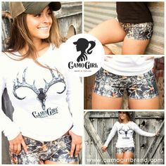 CamoGirl Shorts www.camogirlbrand.com