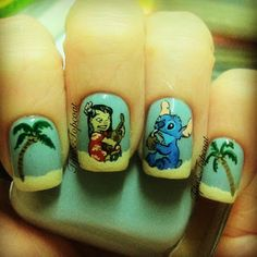 Tips and Topcoat: Lilo and Stitch :D