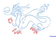 How to Draw a Chinese Dragon; How to Draw Manga/Anime