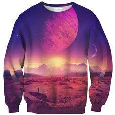 Galaxies Between Us (Kill Paris) Sweater – Shelfies - Outrageous Clothing