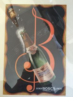Vintage advert | #Bosca  #sparkling #wine #ad | #RiservaDelNonno