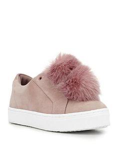 check out 9155e ab735 Sam Edelman Leya Pom Pom Sneaker