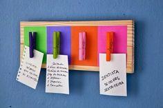 Доска напоминалок / Организованное хранение /