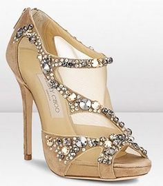 Jeweled sandals from Jimmy Choo Cruise