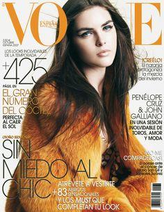 Hilary Rhoda by Tesh Vogue España October 2007
