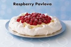 Nothing beats this delicious raspberry pavlova dessert during the summer. With a golden crust and a fresh inside, it will steal the heart of any woman.