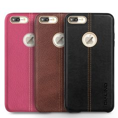 iPhone 7 Simple Leather Protective Sleeve from infpass.com