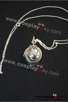Vampire Diaries Locket Elena Necklace VERVAIN FILLED 18 Inches 925 Silver Chain