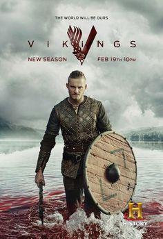 Vikings, saison 3 - Le poster avec Bjorn