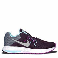 eb99b231372 Nike Women s Zoom Winflo 2 Flash Running Shoes (Purple Blue) Nike Women