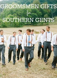 Groomsmen Gift Guide: Gifts for the Southern Gentleman