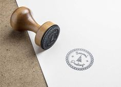 Design your own rubber stamp kit online and have it mailed to you.