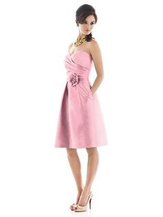 Bridesmaids dresses idea. Alfred Sung Style D498. Color-Twirl.