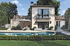 Spanish Colonial Pool House
