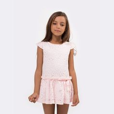 Vestido de Niña Blonda Rosa - Vestidos - Ropa - Niña - Conguitos